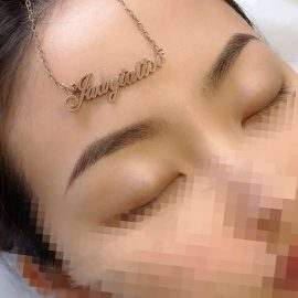 Semi-Permanent Eyebrows Tattoo