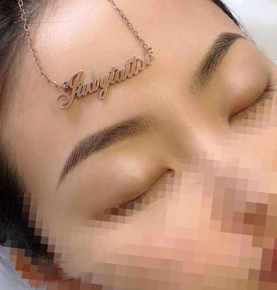 Semi Permanent Eyebrows Tattoo